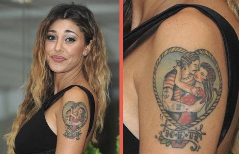 belen tatuaggio