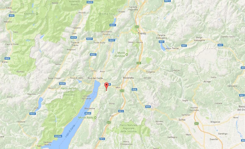 terremoto a trento