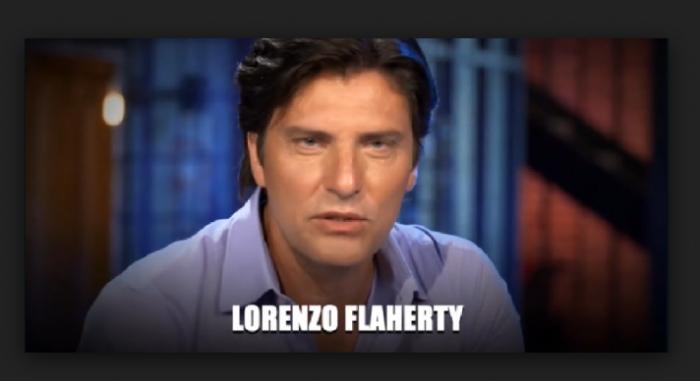 Lorenzo Flaherty abbandona la casa del Grande Fratello Vip 2