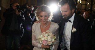 Carlo Cracco si Sposa con Rosa Fanti - Il Vestito della Sposa si Strappa.