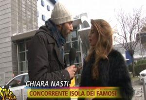 Chiara Nasti Non Nega il Canna-Gate - Fugge Davanti alle Telecamere di Striscia la Notizia.
