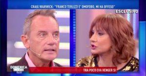 Franco Terlizzi a Rischio Eliminazione per le Accuse di Omofobia - Il Figlio lo Difende.