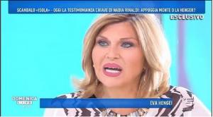 Nadia Rinaldi Sbotta in Diretta - All'Isola Mandano in Onda Ciò che Vogliono.