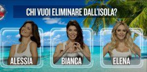 Tutti Contro Bianca Atzei - Sull'Isola che Non c'è I Naufraghi la Attaccano a Distanza.