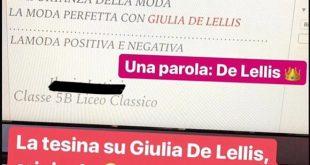 Maturità Shock - Una Studentessa fa la Tesina su Giulia De Lellis